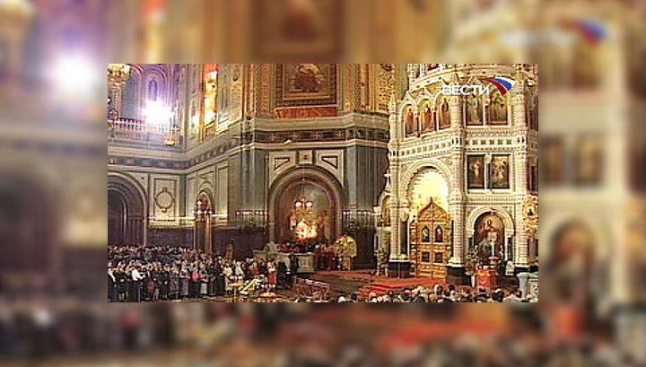 Божественная литургия предваряет начало работы Поместного собора