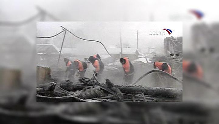 Пожар в доме престарелых екатериновка омской области интернаты пансионаты для инвалидов и престарел