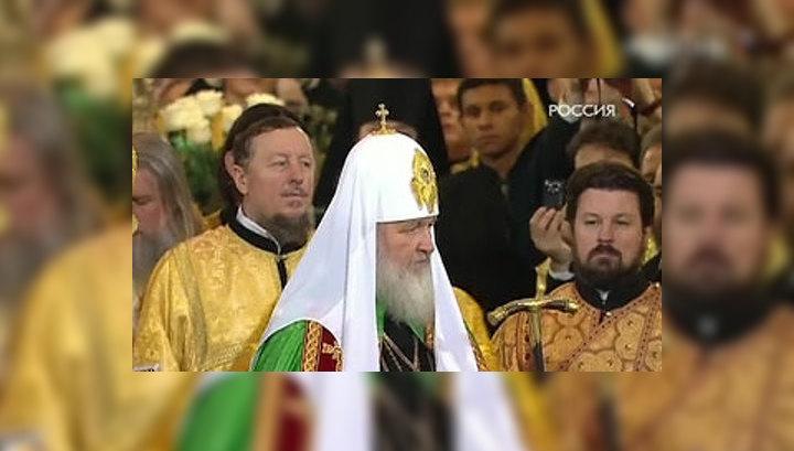 Патриарх Кирилл взошел на престол