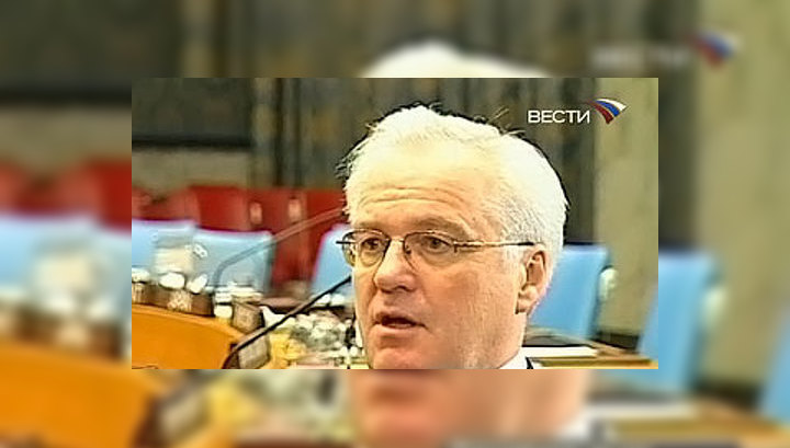 Виталий Чуркин: дипломаты - как сталевары