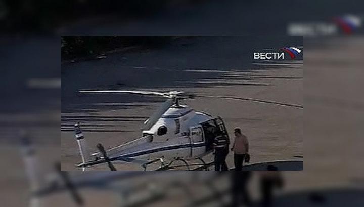 В Греции ищут сбежавших на вертолёте из тюрьмы заключённых