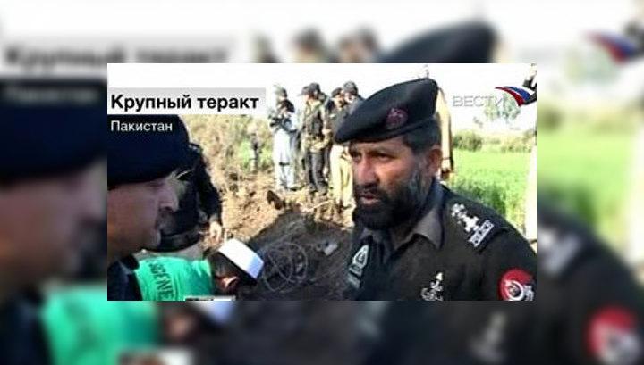 Смертник подорвал автомобиль в Пакистане, погибли 7 человек