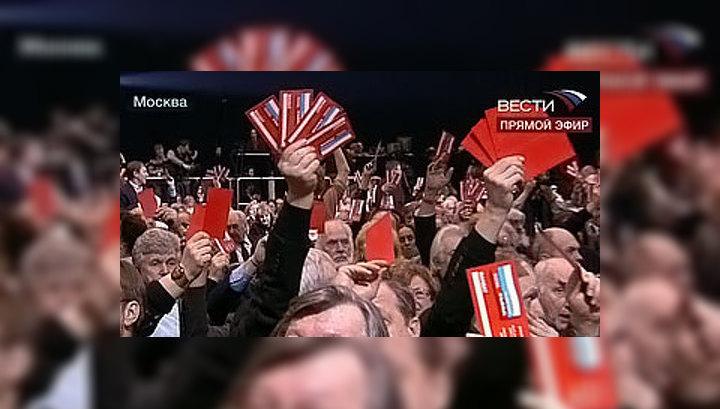 Никита Михалков избран председателем Союза кинематографистов