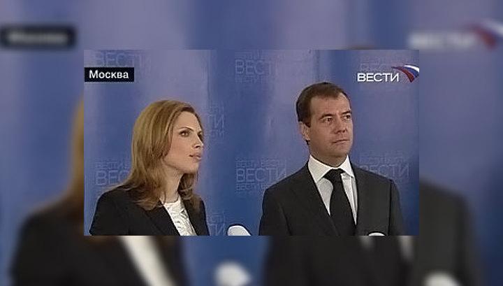 """Дмитрий Медведев рассказал, что ежедневно смотрит канал """"Вести"""""""