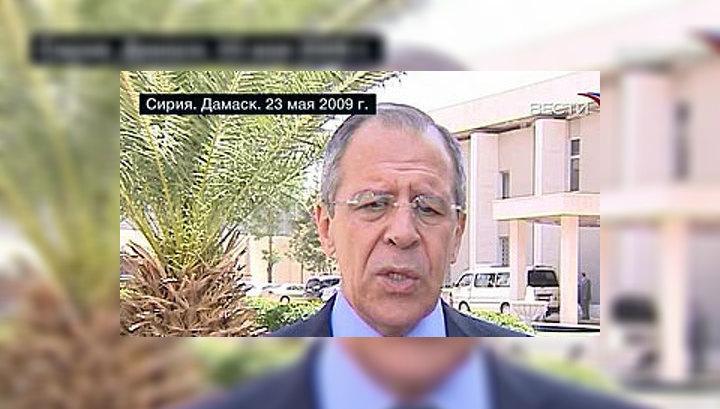 Лавров: Все проблемы Ливана должны решаться через диалог без внешнего вмешательств