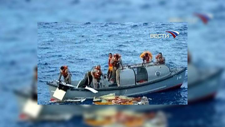 В районе катастрофы аэробуса А-330 пока найдено шесть тел погибших