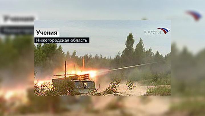 Танковая бригада провела образцовые учения
