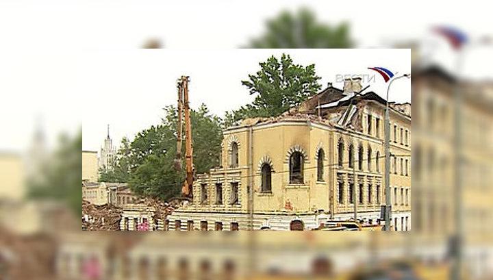 """По словам главного архитектора города Александра Кузьмина, """"дома будут воссозданы в том же виде"""""""