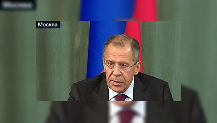 Лавров: Россия будет тщательно изучать сообщения из КНДР