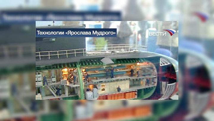 В Петербурге представили военно-морские технологии XXI века