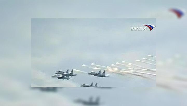 Российские летчики отмечают профессиональный праздник