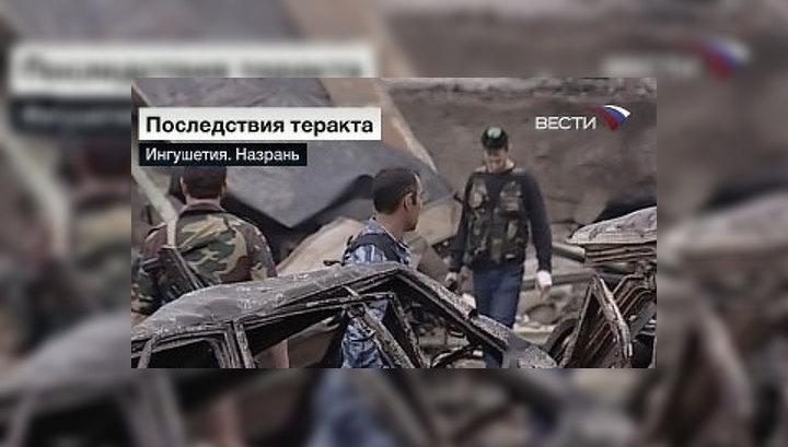 Число жертв теракта в Назрани возросло до 25 человек