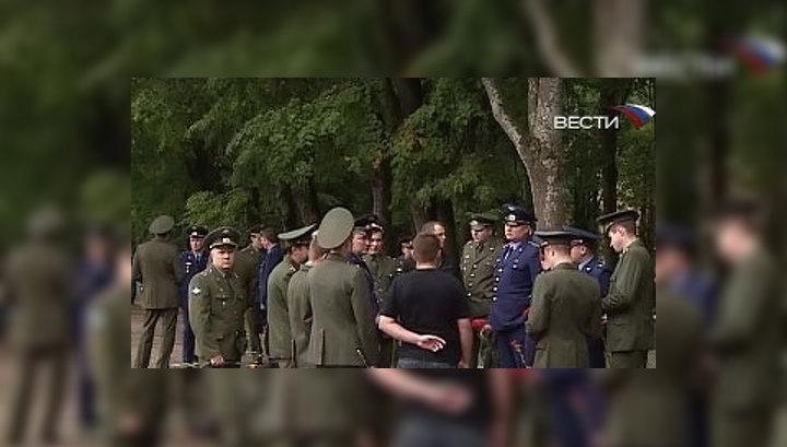 """Русские витязи"" проводили командира в последний путь"