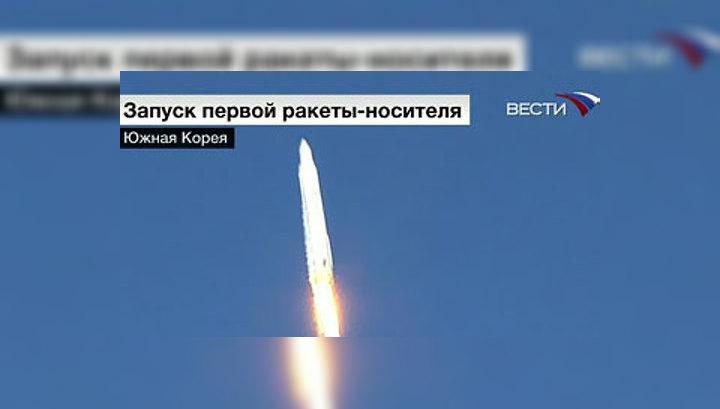 В Южной Корее успешно стартовала первая ракета со спутником на борту