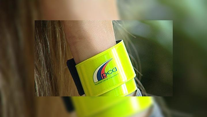 Карельских школьников снабдили фликерами для безопасности на дорогах