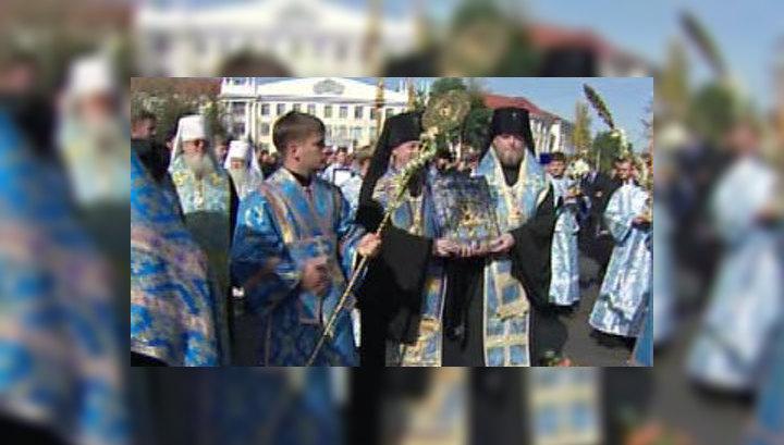"Курск обрёл ""Знамение"" Божией Матери"