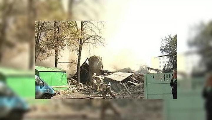 Мощность взрыва на складе в Воронеже составила 50 кг тротила