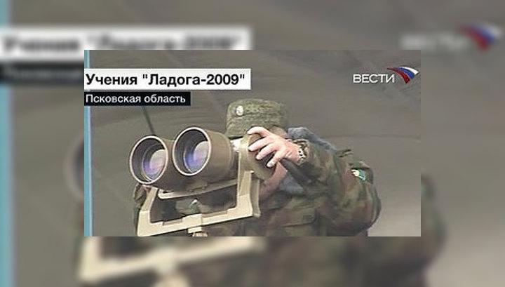 """Учения """"Ладога-2009"""" достигли кульминации"""