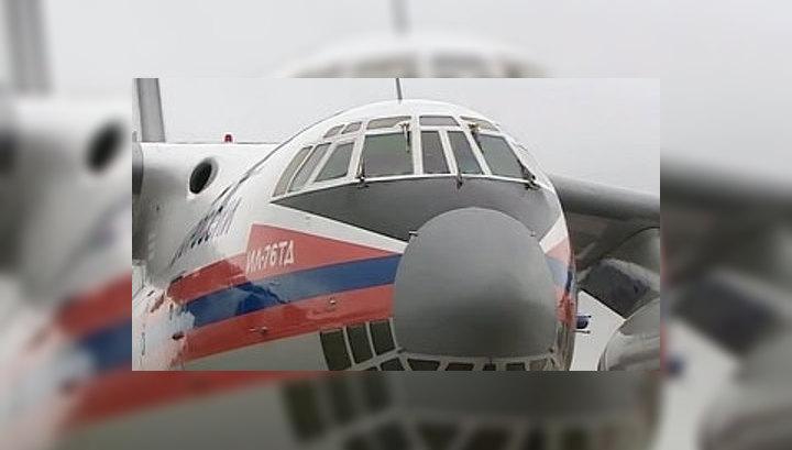 Самолет с пострадавшими в ходе событий в Киргизии вылетел в Москву