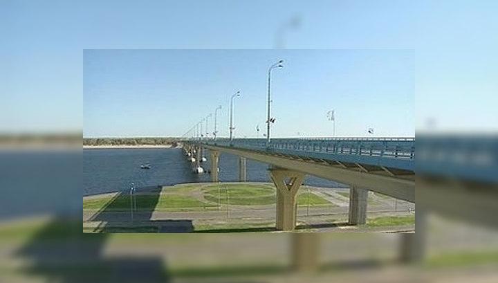 Иванов открыл в Волгограде самый большой мост в Европе