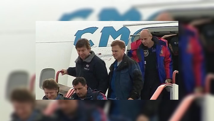 Падалка, Барратт и Лалиберте вернулись в Москву