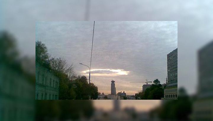 """""""Странное"""" облако ворует людей, укрывает НЛО и бьет рекорды в Интернете"""