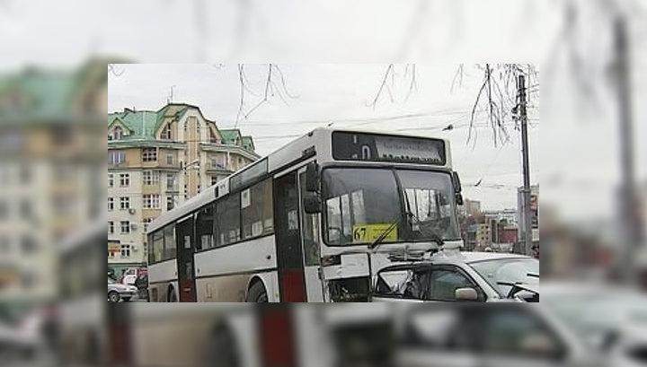 Причиной крупного ДТП в центре Перми могла стать неисправная педаль газа