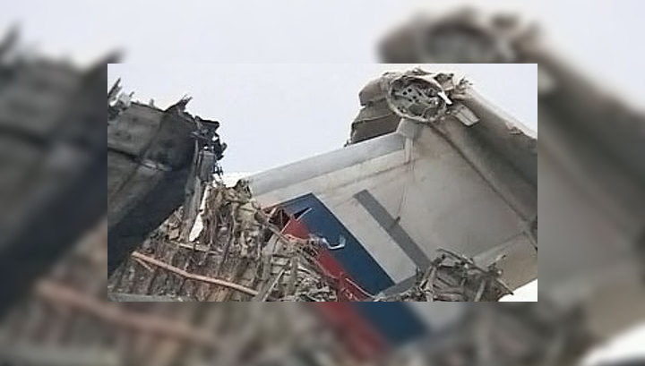 Ил-76 мог упасть из-за ледяной корки на крыльях