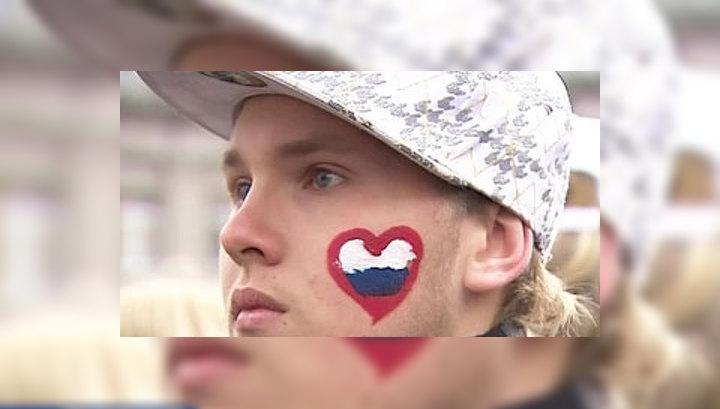 Россияне проявили единство в массовых гуляниях