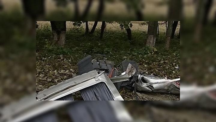 Серия страшных аварий на российских дорогах