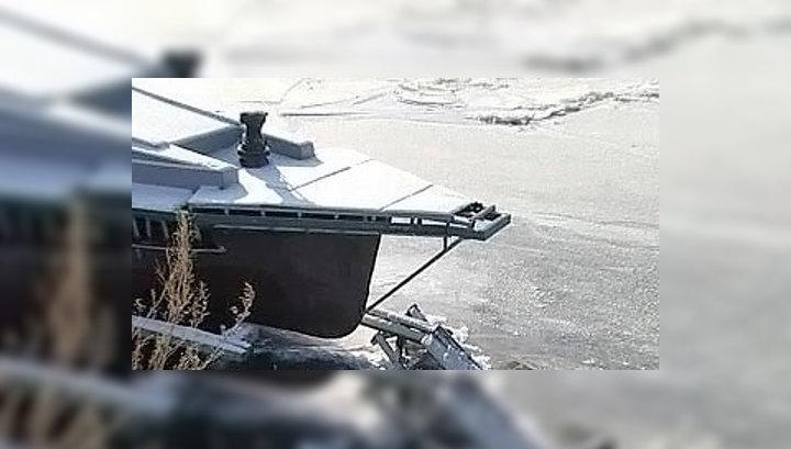 На реке Томь начался ледоход