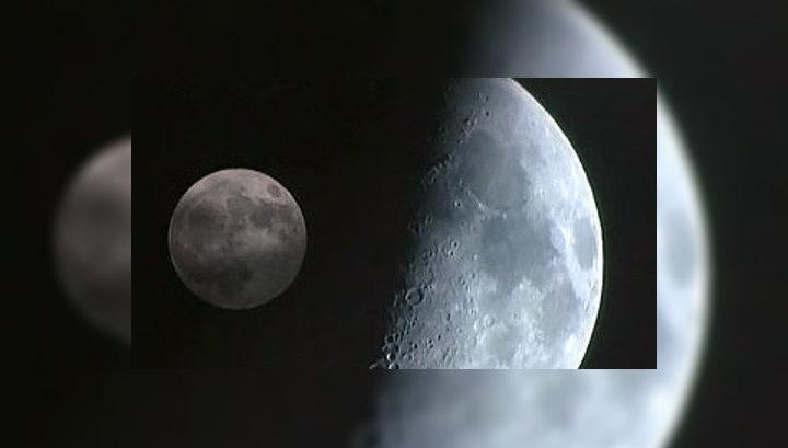 В лунном кратере нашли десятки литров воды