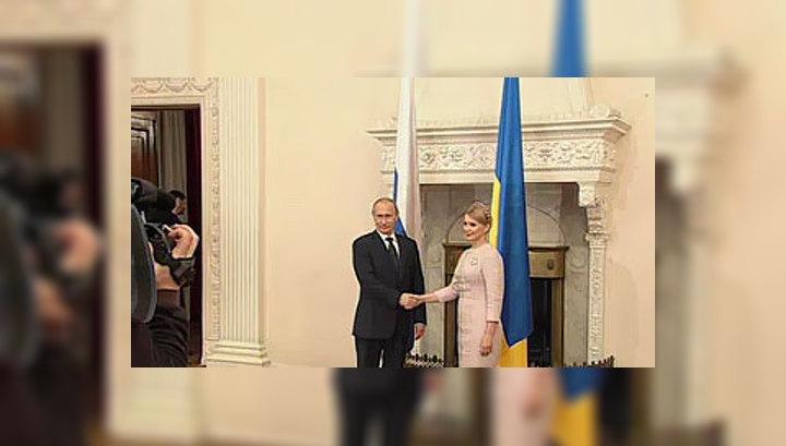 Путин и Тимошенко обсуждают газовый вопрос