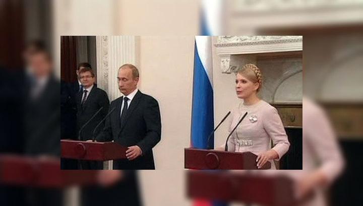 Владимир Путин продолжает рабочую поездку на Украину