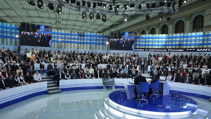 """У интернет-трансляции """"Разговора с Владимиром Путиным"""" - свыше 204 200 просмотров"""