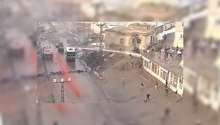 На юго-востоке Турции прошли массовые беспорядки