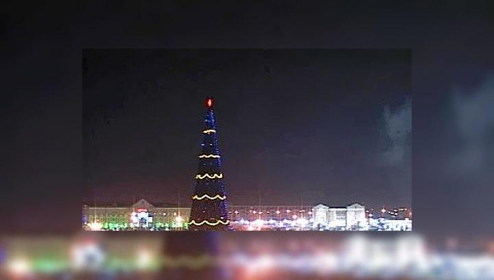 Россияне отметили Новый год с размахом