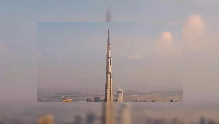 В самом высоком в мире небоскребе Burj Khalifa уже скупают квартиры