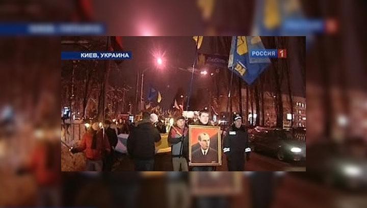 Ющенко присвоил Степану Бандере звание героя Украины