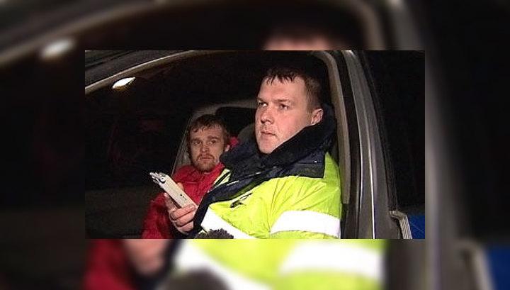 В Новый год ГИБДД выявляет пьяных водителей и Дедов Морозов