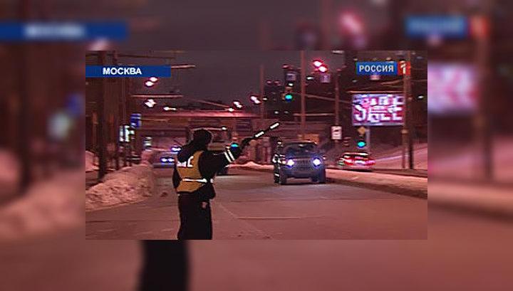 За две недели 2010-го в Москве отловили 800 пьяных за рулем