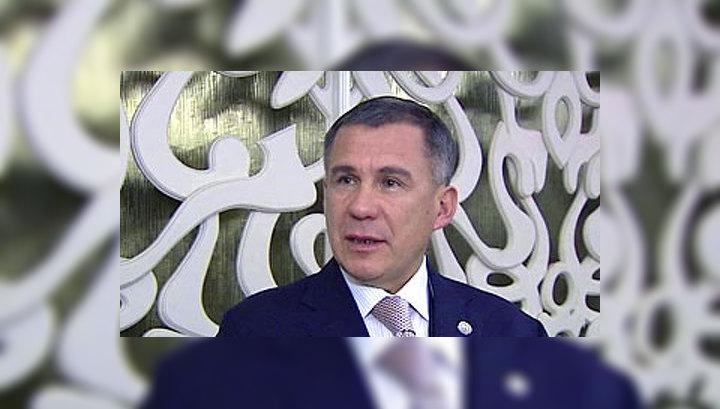 Минниханов вступил в должность президента Татарстана