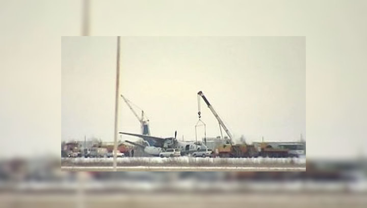 Авария Ан-24 произошла из-за поломки шасси