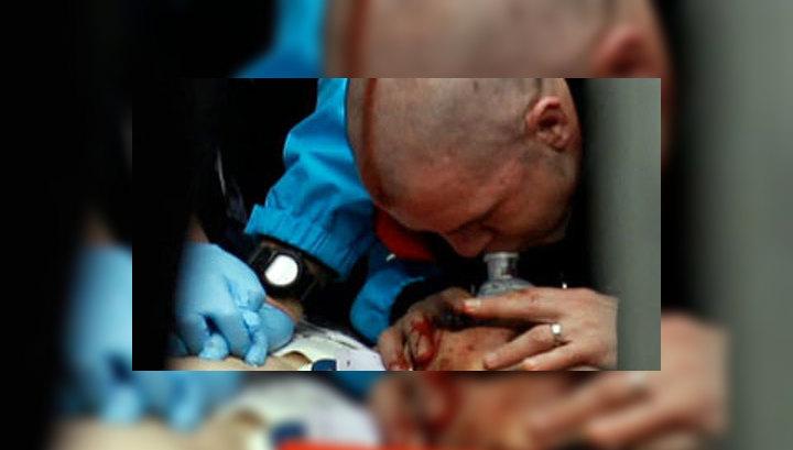 В Ванкувере во время тренировки разбился  грузинский саночник