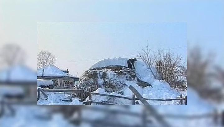60-градусный мороз парализовал восток Казахстана