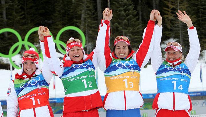 Российские биатлонистки посоветовали соперницам стать мамами
