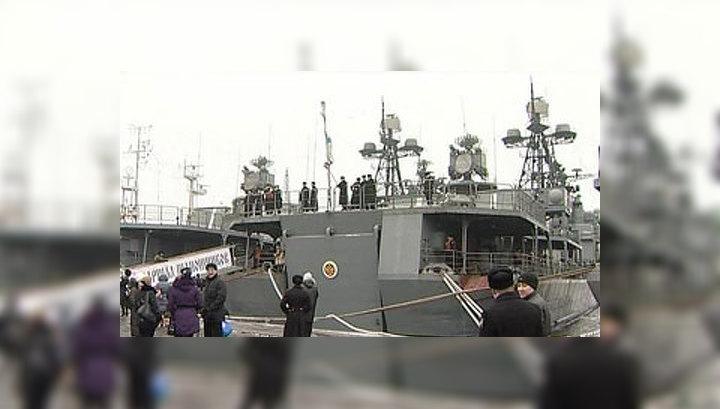 """""""Маршал Шапошников"""" отправился на борьбу с сомалийскими пиратами"""