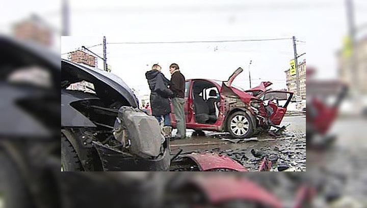 У водителя Citroen не было не единого шанса избежать столкновения