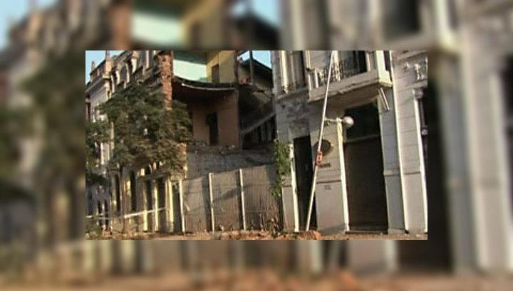 От землетрясения в Чили рухнуло 15-этажное здание