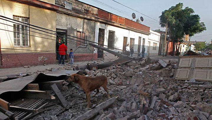 Число погибших в результате землетрясения в Чили выросло до 214 человек